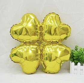Шарик для декора золотой.Размер 45см.*45см.