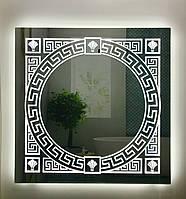 Зеркало MRLed-001(900х900)