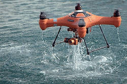 Почему дроны падают в воду. Что делать если дрон упал в воду?