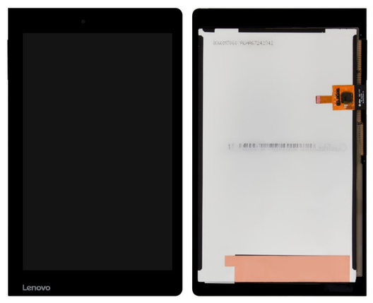 Экран (дисплей) для планшета Lenovo Yoga Tablet 3 YT3-850F 8.0 с сенсором (тачскрином) черный Оригинал, фото 2