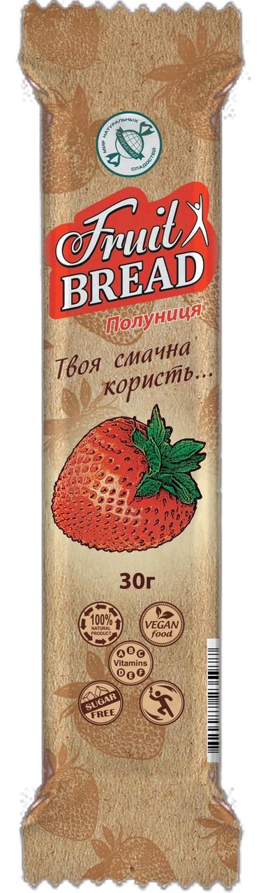 Батончик здорового питания «Фруктовый Хлеб», Клубника