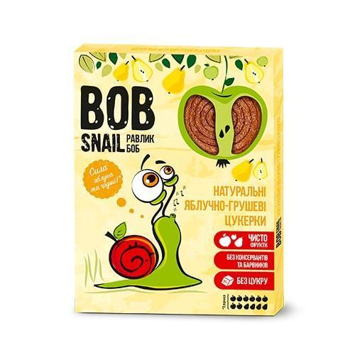 Натуральные яблочно-грушевые конфеты Bob Snail Равлик Боб, 120 г