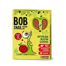 Натуральные яблочные конфеты Bob Snail Равлик Боб, 120 г 12 конфет