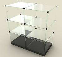 """Стеклянные витрины """"Кубики"""""""