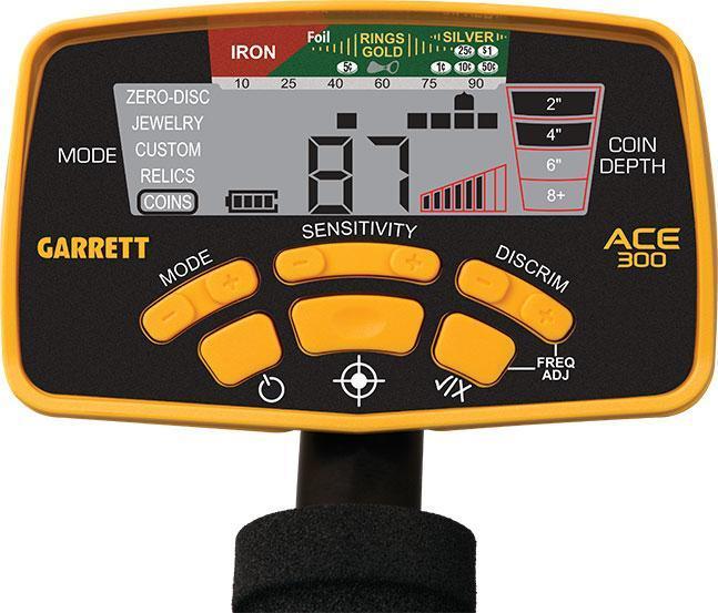 Металлоискатель Garrett ACE 300i SPECIAL (в наборе с пинпоинтером Garrett Pro-Pointer 2)