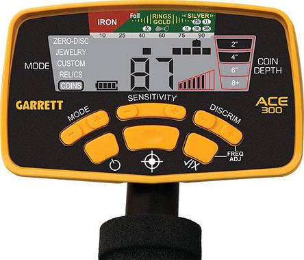 Металлоискатель Garrett ACE 300i SPECIAL (в наборе с пинпоинтером Garrett Pro-Pointer 2), фото 2