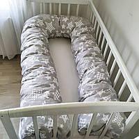 Подушка для беременных и кормления U-340 для сна и отдыха