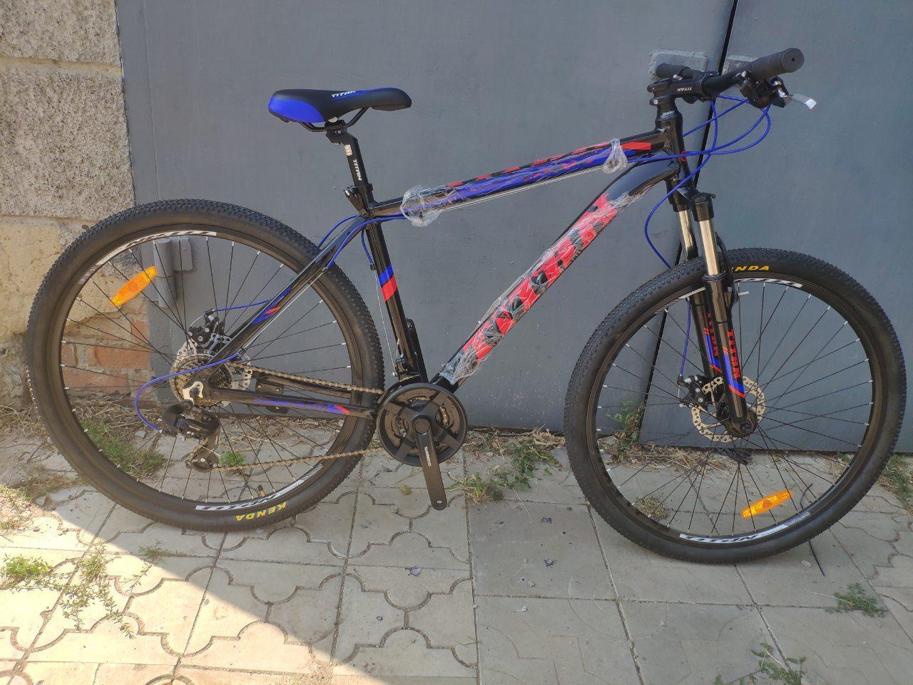 """Алюминиевый горный велосипед 29"""" TITAN ATLANT DD"""