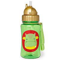 Детская бутылочка поильник Скип Хоп Дракон Skip Hop Dragon, с трубочкой