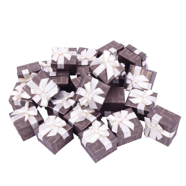 Бумажная коробочка BOXSHOP #box1-1 Коричневый