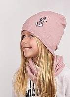 Демисезонные шапки, комплекты для девочек