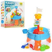 Стол для игры с песком и водой Столик песочница