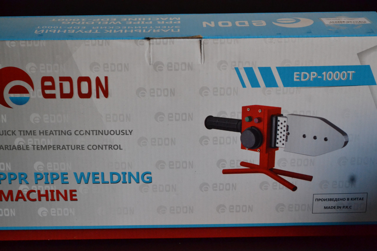 Паяльник для пластикових труб EDON EDP-1000T