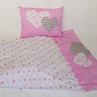 Одеяло и подушка для новорожденного в коляску и кокон