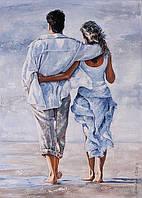 Картина по номерам Идейка КНО2643 О любви 35х50см ідейка картины Люди, супергерои