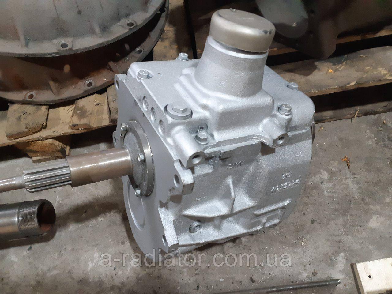 КПП ГАЗ 53, 3307 с кругл.фл. (пр-во ГАЗ)
