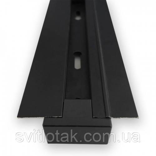 Шинопровід вбудовуваний Feron CAB1004 2м чорний