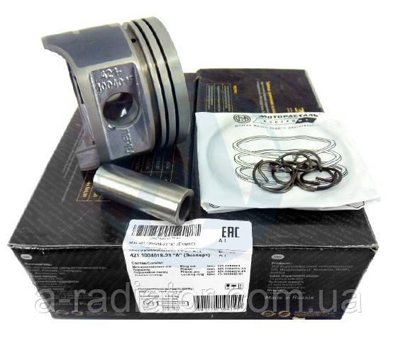 Моторокомплект 4215,16,13,18 100,0 гр.Р (порш.+палець+п/кільця) (Black Edition) (Кострома)
