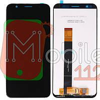 Экран (дисплей) Meizu M8c M810H + тачскрин черный оригинал Китай