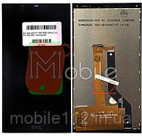 Экран (дисплей)  HTC 626 626G Desire Dual Sim 530 630 + тачскрин черный оригинал Китай