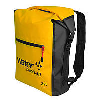 Водонепроницаемый рюкзак Outdoor Waterproof Swimming Bag 25L Yellow