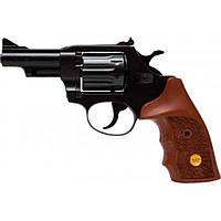 Револьвер под патрон Флобера Alfa 431 (вороненый, дерево) (144942/2)