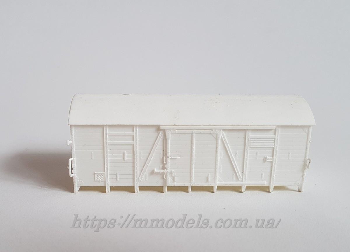 Piko запасная часть модель кузова крытого вагона для творческих работ, масштаба H0, 1:87