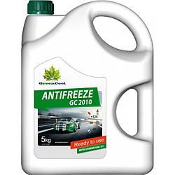 Антифриз GreenCool GС2010 5 кг (G11 зелений від -40 до +110 °С.)