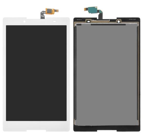 Экран (дисплей) для Lenovo TB3-850M Tab 3 с сенсором (тачскрином) белый