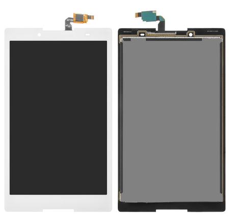 Экран (дисплей) для Lenovo TB3-850M Tab 3 с сенсором (тачскрином) белый, фото 2