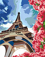 Набор, техника акриловая живопись по номерам, ''Летний Париж'', ROSA START