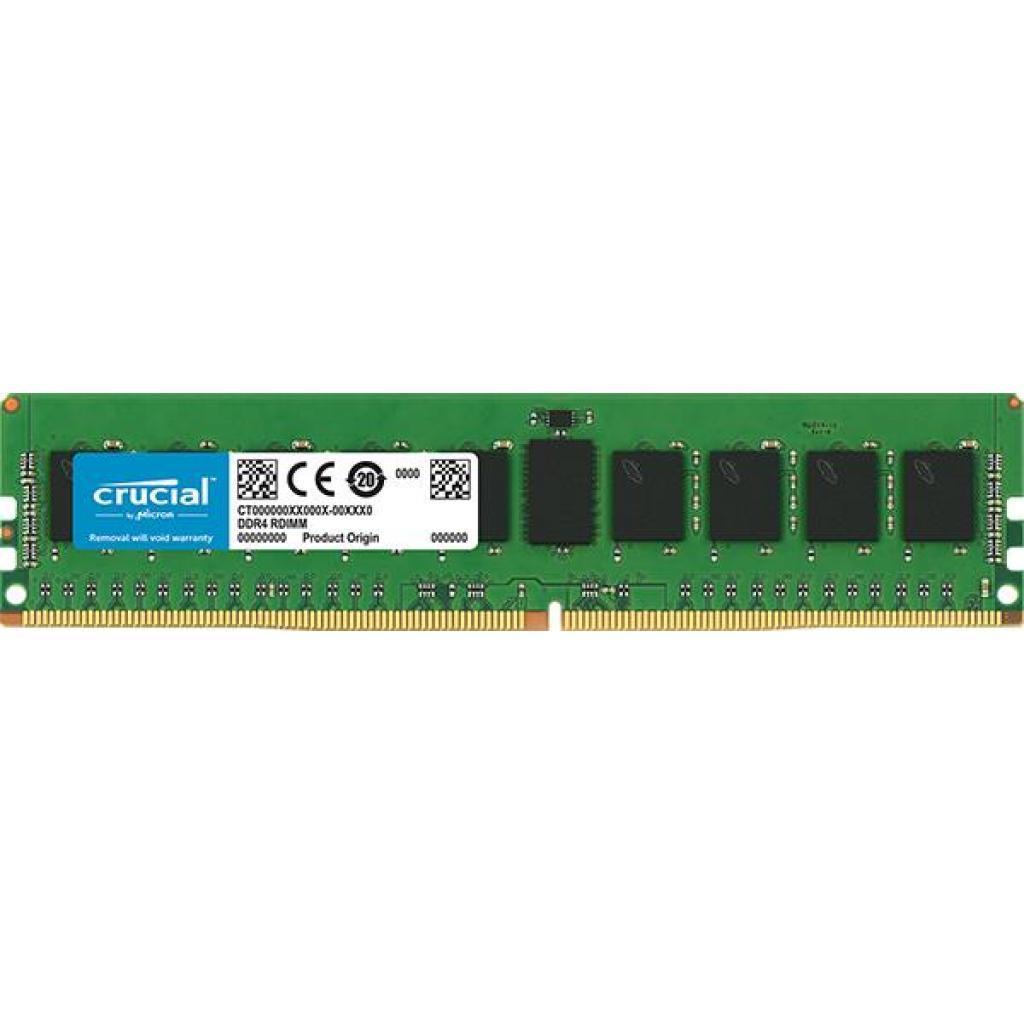 Модуль памяти для сервера DDR4 8GB ECC RDIMM 2666MHz CL19 2Rx8 1.2V MICRON (CT8G4RFD8266)