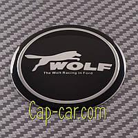 Наклейки для дисков с эмблемой Ford Wolf. ( Форд вольф ) Цена указана за комплект из 4-х штук