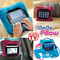 Подушка под голову в дорогу «Go Go Pillow» 3в1 D1029