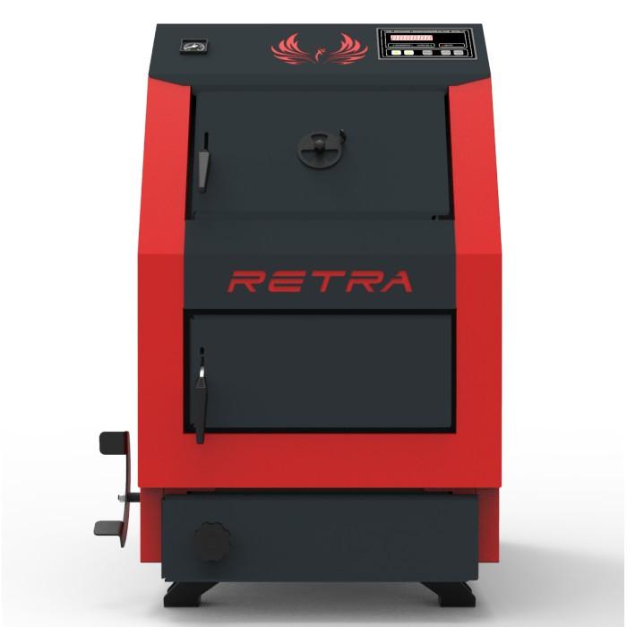 Бытовой котел на твердом топливе длительного горения РЕТРА-3М 32 кВт (RETRA 3-M)