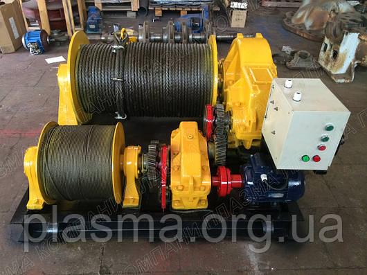 Лебедка электрическая монтажная ЛМ-8А