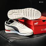 Мужские кроссовки Puma Jogger (бежевые) KS 1410, фото 3