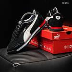 Мужские кроссовки Puma Jogger (черные) KS 1411, фото 8
