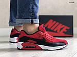 Мужские кроссовки Nike Air Max 90 (черно-красные) KS 1420, фото 2