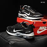Мужские кроссовки Nike Air Presto CR7 (черно-белые) KS 1422, фото 6