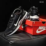 Мужские кроссовки Nike Air Presto CR7 (черно-белые) KS 1422, фото 8