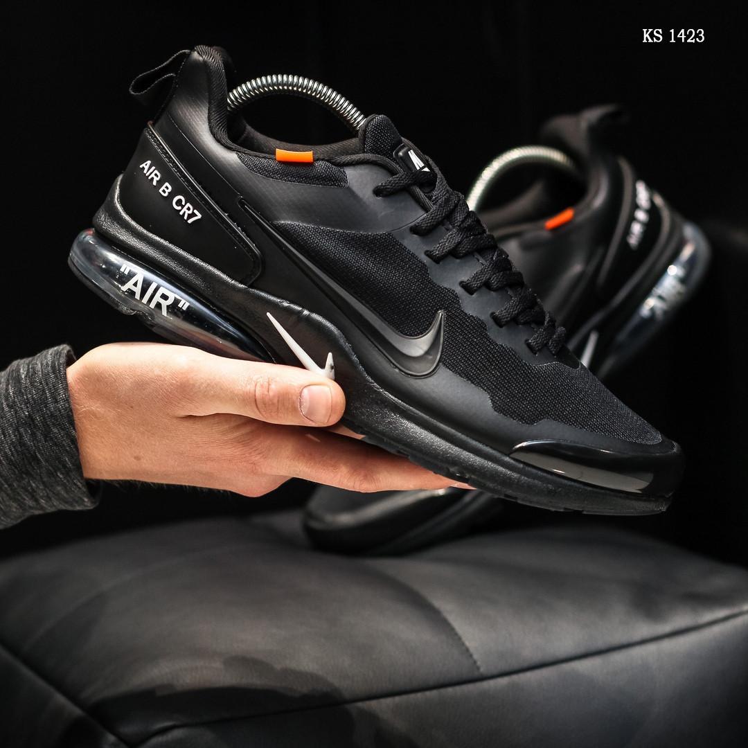 Мужские кроссовки Nike Air Presto CR7 (черные) KS 1423
