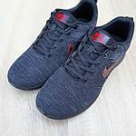 Мужские кроссовки Nike ZOOM Air (черно-оранжевые) 10082, фото 4
