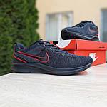 Мужские кроссовки Nike ZOOM Air (черно-оранжевые) 10082, фото 7