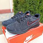 Мужские кроссовки Nike ZOOM Air (черно-оранжевые) 10082, фото 8