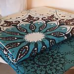 Комплект двуспального постельного белья с абстракцией Маракеш, фото 3