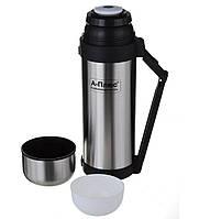 ХИТ ПРОДАЖ! Термос 24 часа! 1,8л питьевой (нержавеющая сталь, одна чашка) А-Плюс
