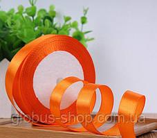 Атлас 1,2 см оранжевый, 23 м