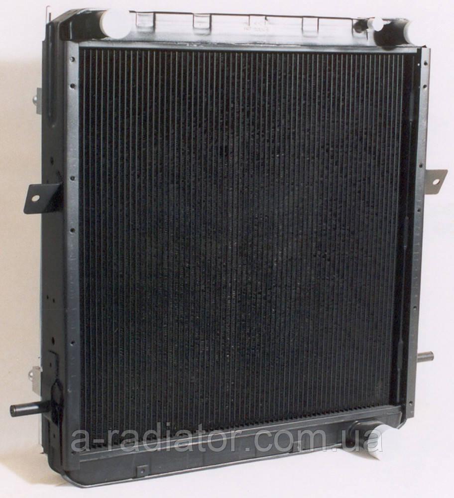 Радиатор водяной КРАЗ 4-х рядный  (пр-во ШААЗ)