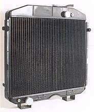 Радіатор водяний 4-х рядний ПАЗ (вир-во ШААЗ)